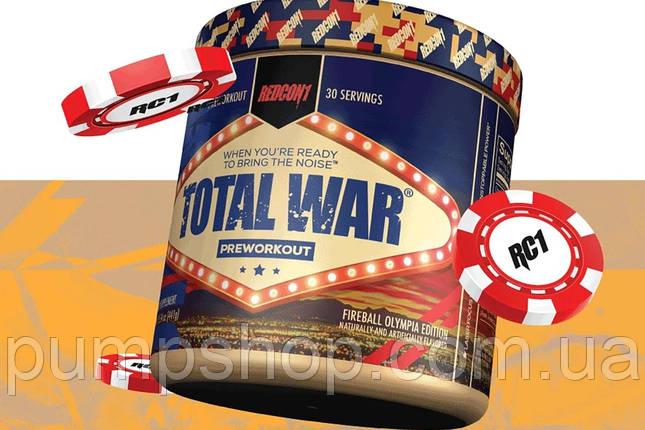 Предтренировочный комплекс RedCon1 Total War 30 порц. LIMITED EDITION, фото 2