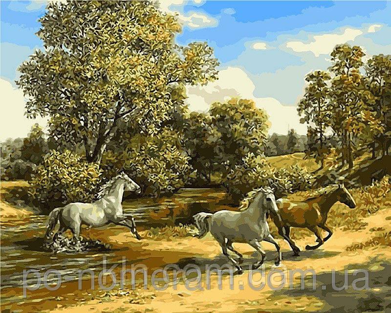 Картина по номерам Babylon Свобода и красота VP468 40 х 50 см