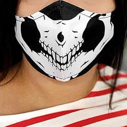 Захисна маска особи Череп 22х11 см (SMM_20S050)
