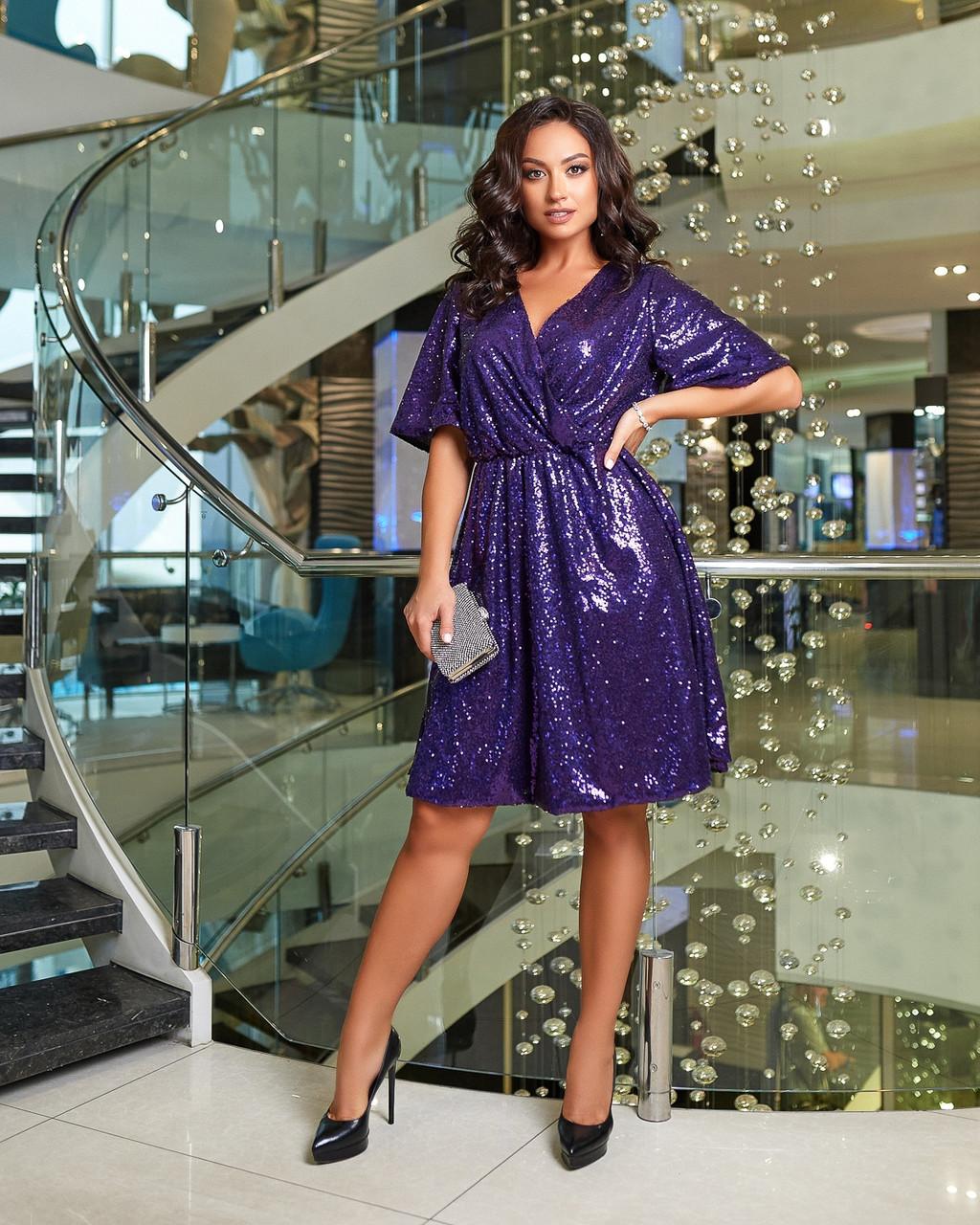 Сукня вечірня фіолетове