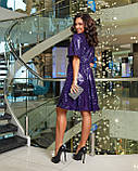 Платье вечернее фиолетовое, фото 2