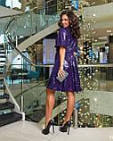 Сукня вечірня фіолетове, фото 2