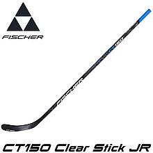 Клюшка хоккейная FISCHER CT150 Clear Stick JR
