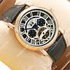 Наручные часы с автоподзаводом Cartier Gold/White-black 501