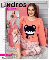 Пижама женская хлопковая Интерлок  6290