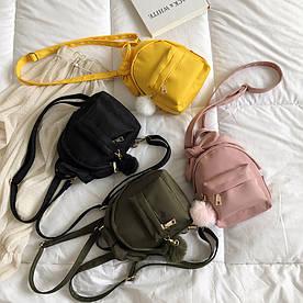 Маленький рюкзак с бантиком