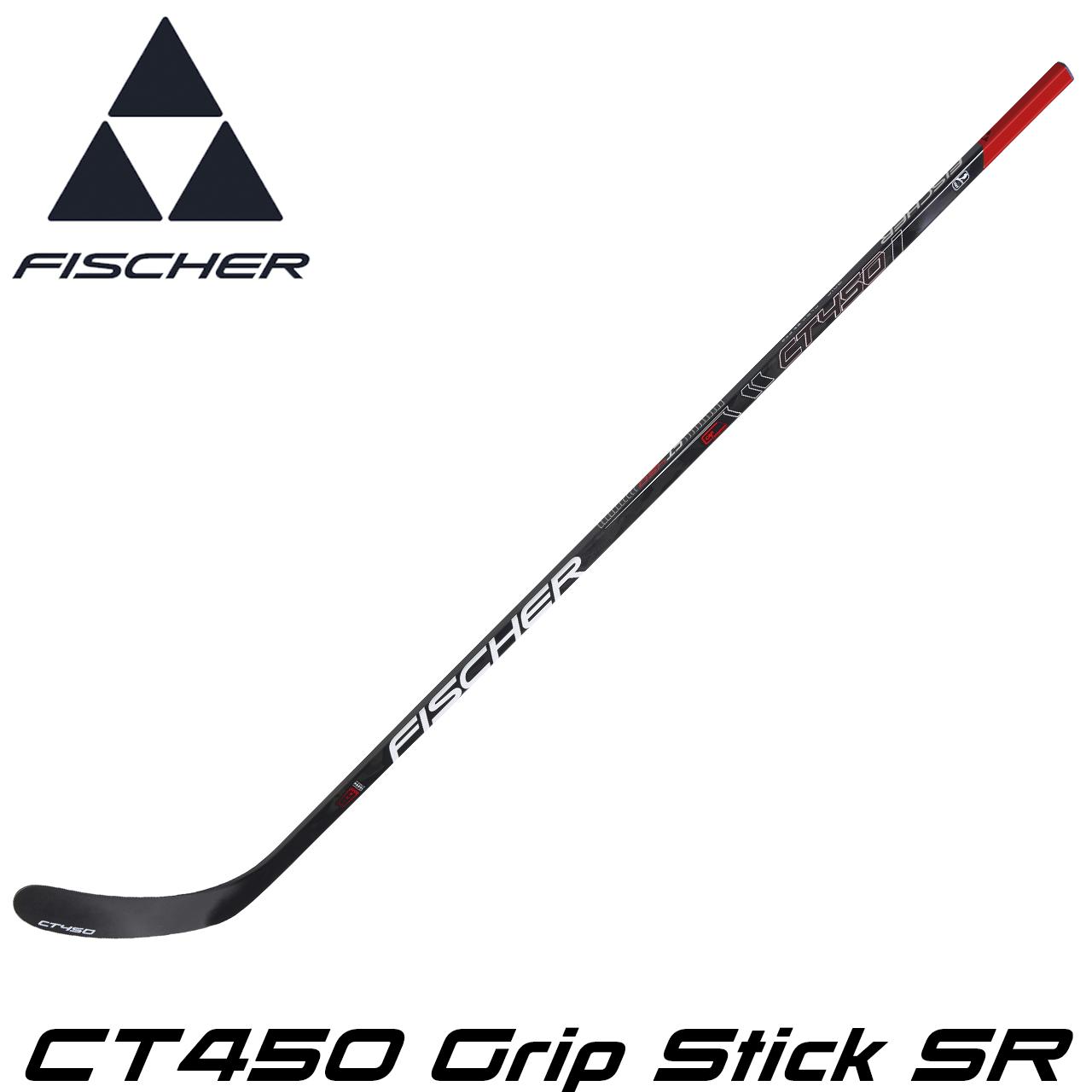 Клюшка хоккейная FISCHER CT450 Grip Stick SR