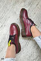Женские осенние туфли в стиле Dr. Martens LS-239, фото 2