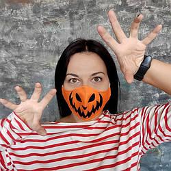 Захисна маска особи Хеллоуїн 22х11 см (SMM_20S042)