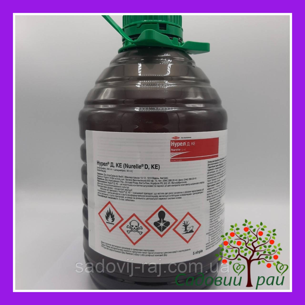 Инсектицид Нурел Д к.е. 5 л Syngenta для яблони, пшеницы, свеклы, рапса, горчицы