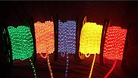Световой шнур Led Duralight 2-проводной. 240V. d = 10мм. 2.77см 36свитлодиоды / м 100м / рул