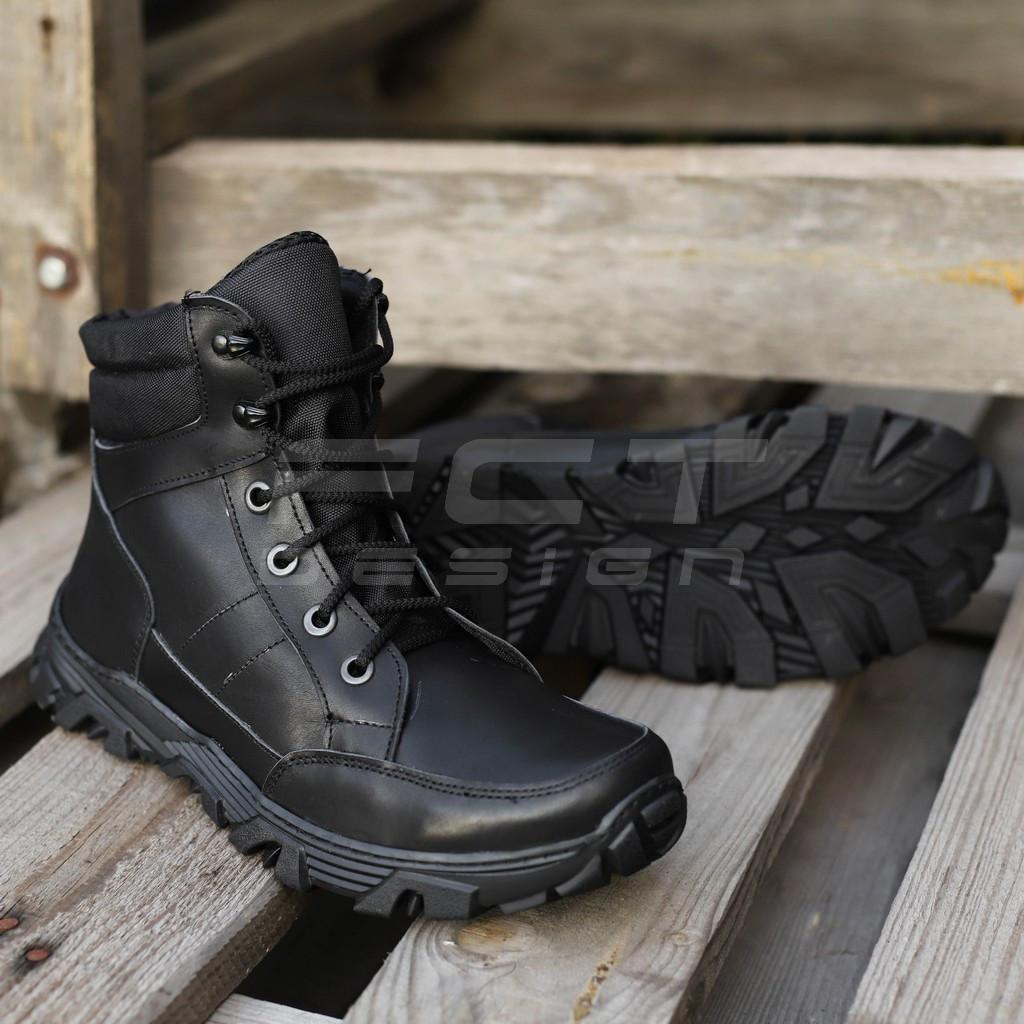 Ботинки демисезонные Некст натуральная кожа черные