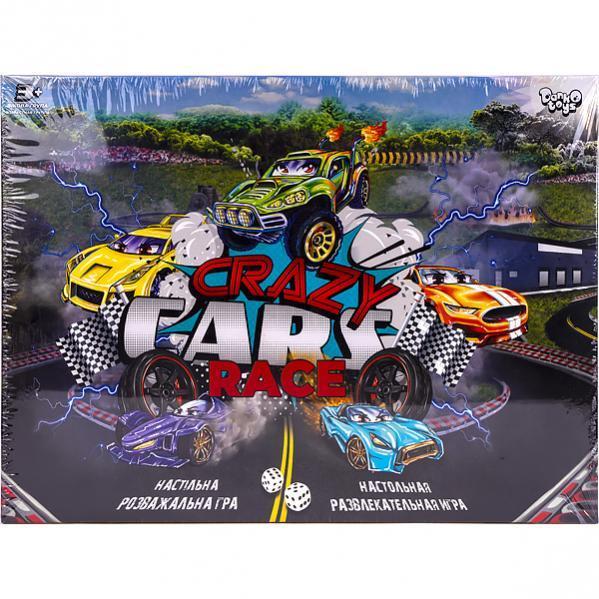 Настольная игра «Crazy Cars Race» DTG94 R