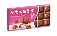 Молочный шоколад Schogetten Youghurt-Strawberry,100 гр