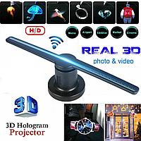 Голографический 3D проектор вентилятор Holographic FAN, фото 1