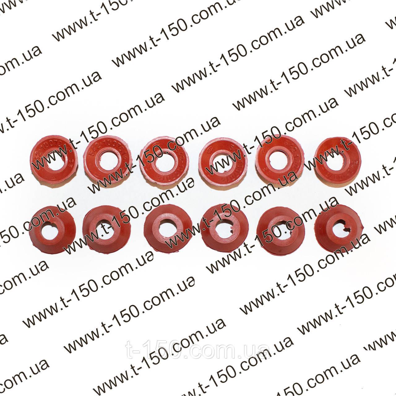 Ремкомплект сальников впускных клапанов ГАЗ-4301 12 штук, дизель силикон, 542.1007014