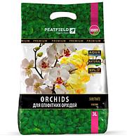 Субстрат для епіфітних орхідей Peatfield 3л. сад орхідей Premium