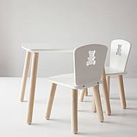 Комплект столик и 2 стула для детей 4-7 лет
