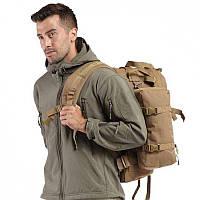 Куртка Soft Shell PAN TAC олива с флис кофтой
