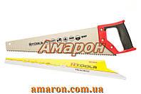 Ножовка по дереву с каленым зубом 400 мм, 55 HRC, 7 TPI