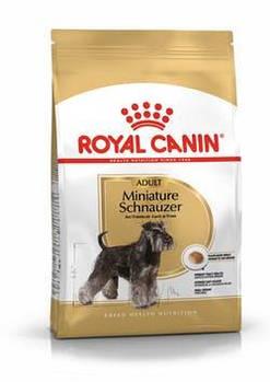 Сухой корм Роял Канин (Royal Canin) Schnauzer Adult для собак породы миниатюрный шнауцер, 500 гр