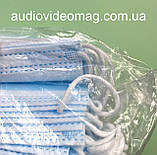 Маска одноразовая, трехслойная, упаковка 50 штук, фото 2