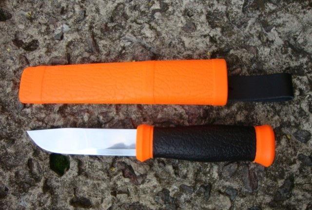 Нож 2000 Knife Outdoor ORANGE12057