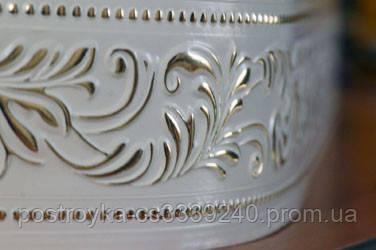 Лента декоративная на карниз, бленда Оригинал 01 Золото 70 мм на усиленный потолочный карниз КСМ