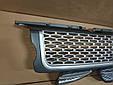 Решітка радіатора і зябра Range Rover Sport (2005-2009) Сіра, фото 2