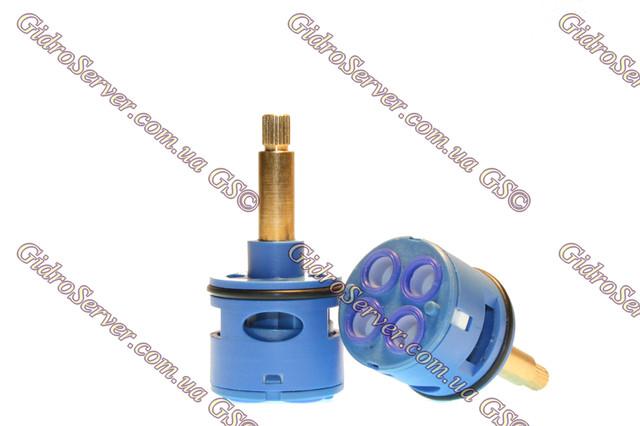 Картридж для смесителя душевой кабины, гидромассажного бокса K 37/4/38 на четыре положения.