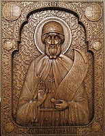 Икона Святой преподобный Виталий Александрийский, фото 1