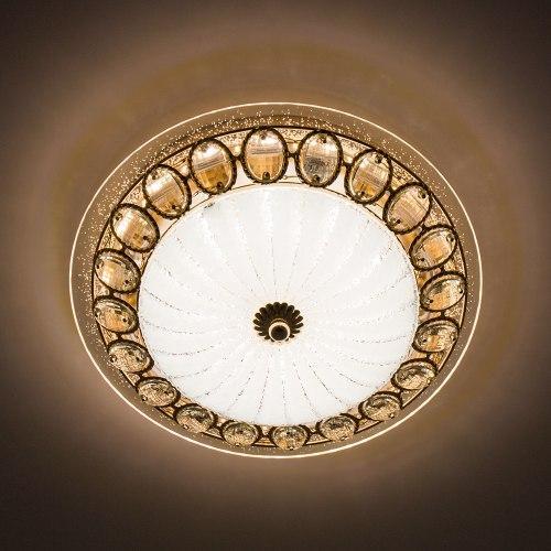 Стельовий світильник світлодіодний LUMINARIA CASABLANCA GOLD 25W R300 WHITE 220 IP20