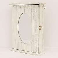 Ключница настенная с зеркалом (29*22*7,5 см.), фото 1