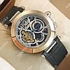 Высококачественные мужские наручные часы Cartier calibre de cartier Gold/Black-white 508
