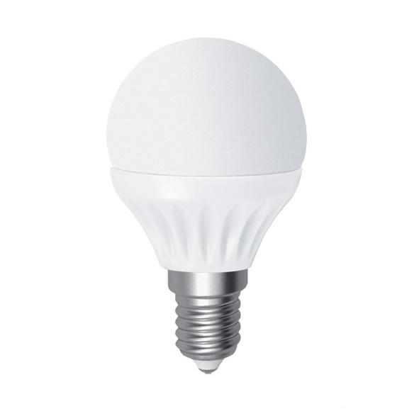Лампа светодиодная D45 7W Е14 2700К ELECTRUM