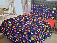 Семейный Комплект постельного белья Сатин Gold, фото 3