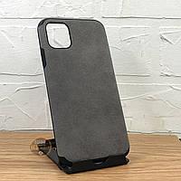 Чехол Алькантара на iPhone 11/11 pro/11 pro Max Бампер на айфон 11 про