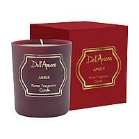 Ароматизована подарункова свічка Amber, 1 шт
