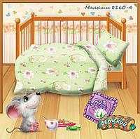 """Детское постельное белье в кроватку """"Кошки-Мышки"""" Малыши 4"""