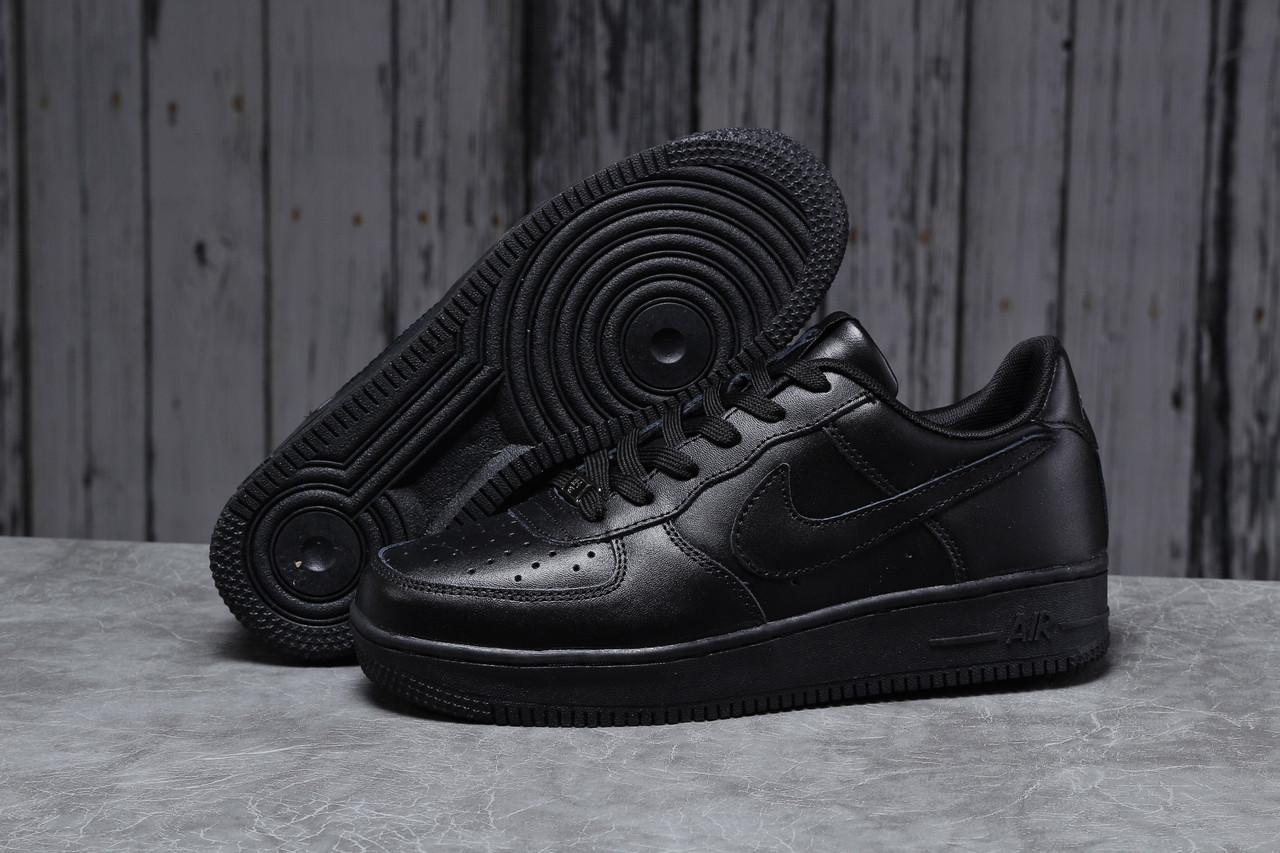 Кроссовки мужские 18062, Nike Air, черные, [ 41 42 44 45 46 ] р. 41-26,7см.