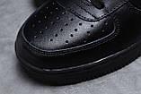 Кроссовки мужские 18062, Nike Air, черные, [ 41 42 44 45 46 ] р. 41-26,7см., фото 4