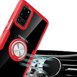 TPU+PC чехол Deen CrystalRing for Magnet (opp) для Samsung Galaxy S20 Ultra, фото 2