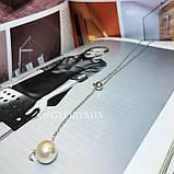 """Цепочка с жемчугом """"Elegant Pearl"""", 2 цвета, фото 5"""