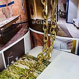"""Цепочка многослойная с большими звеньями """"Large Chain"""", 2 цвета, фото 3"""