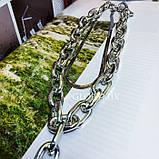 """Цепочка многослойная с большими звеньями """"Large Chain"""", 2 цвета, фото 6"""