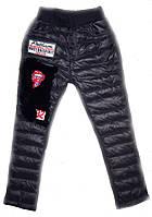 Теплые брюки лосины на девочку