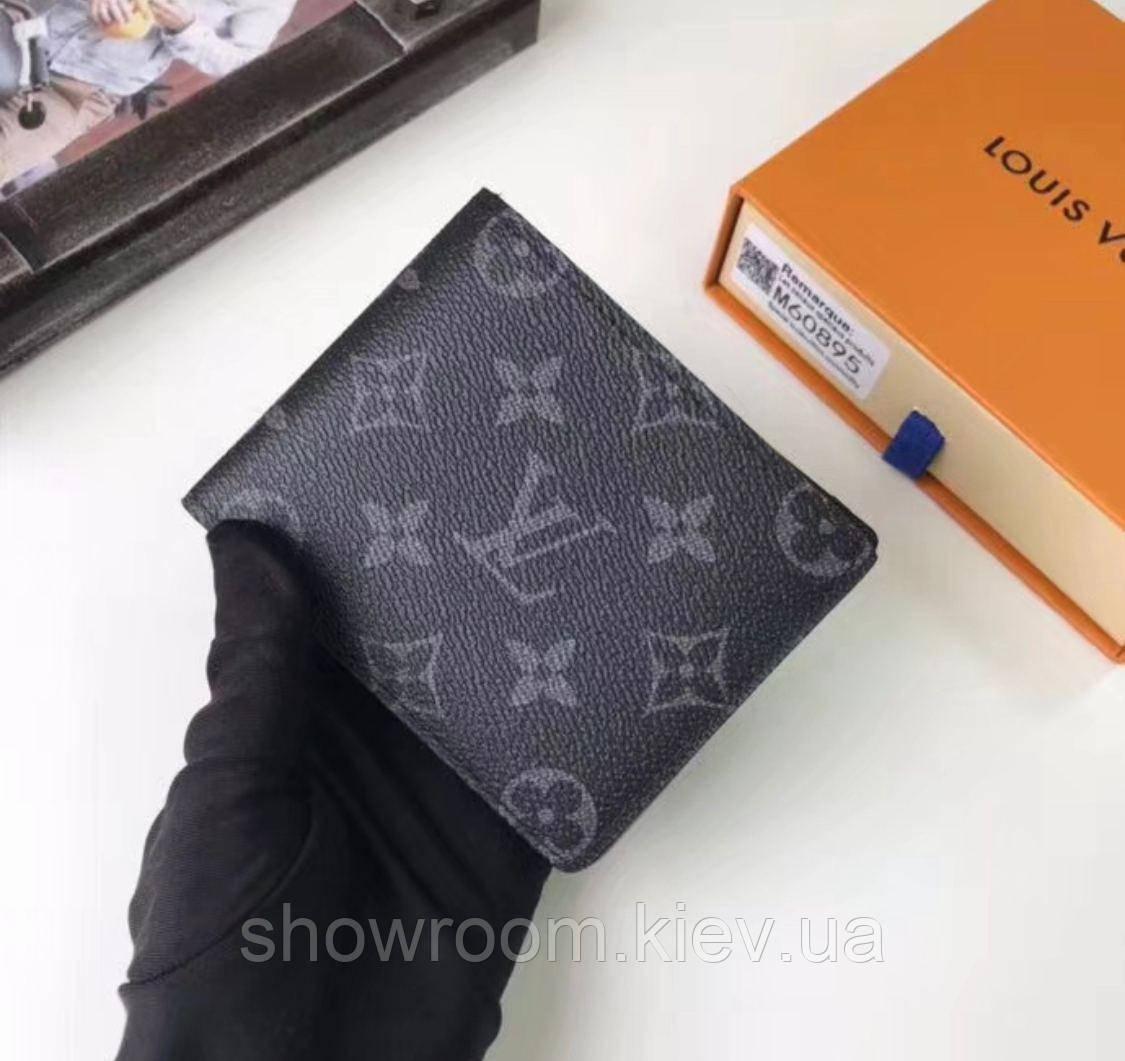 Мужское брендовое портмоне (60895-1) Lux подарочная упаковка