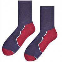 Носки мужские спортивные STEVEN 057, размеры 41-43 ,44-46, хлопок, фото 1
