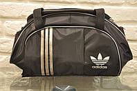 af6e10f8c825 Спортивная сумка Adidas модель M-530.(черный+серебро). ХИТ ПРОДАЖ