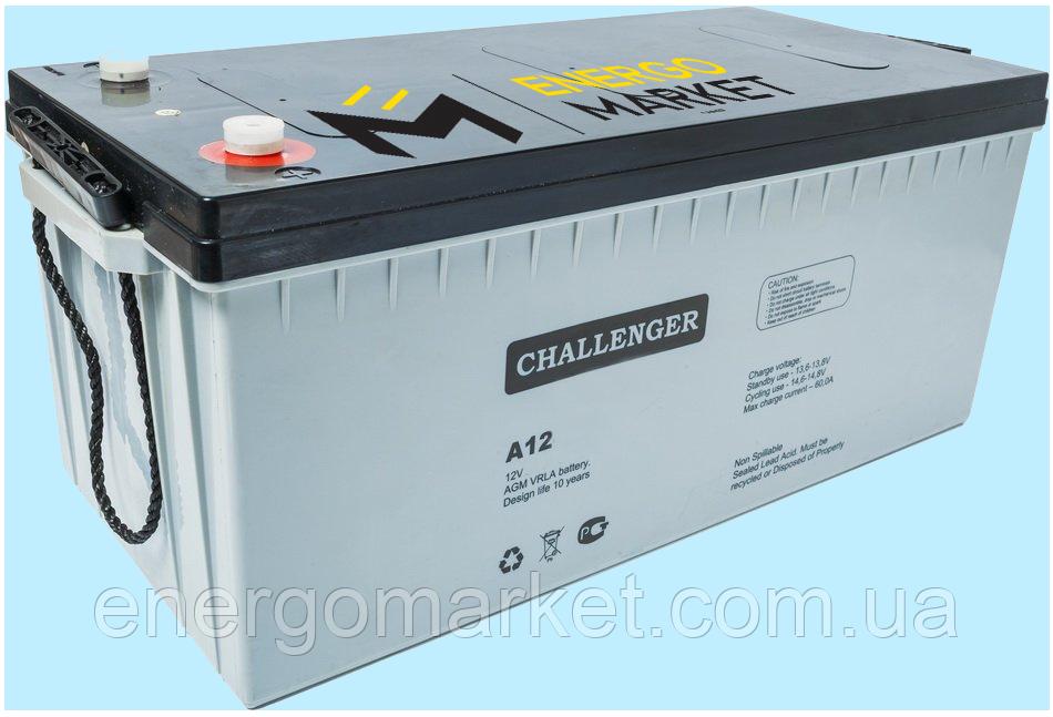 Аккумуляторная батарея Challenger А12-260 AGM (12 В, 265 А*ч)